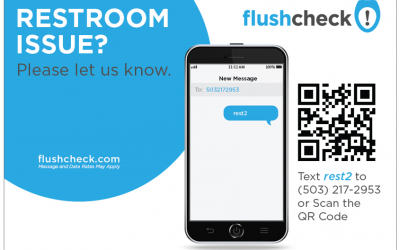 Phlush Award for Restroom Feedback