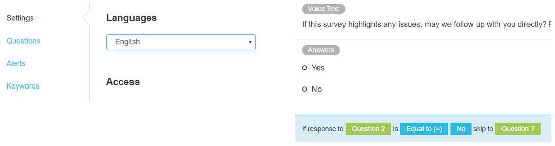 Opiniator provides help in survey design