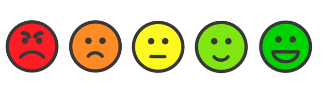 Email Signature Feedback with Smiley Face