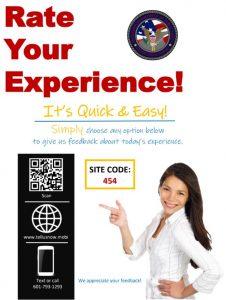 DMV Driver Feedback Poster
