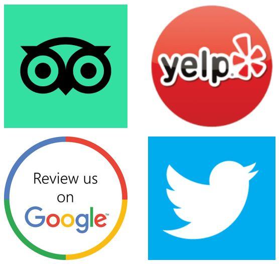 Attractions feedback on Social Media