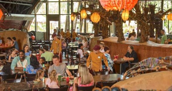 Attractions restaurant visitor feedback