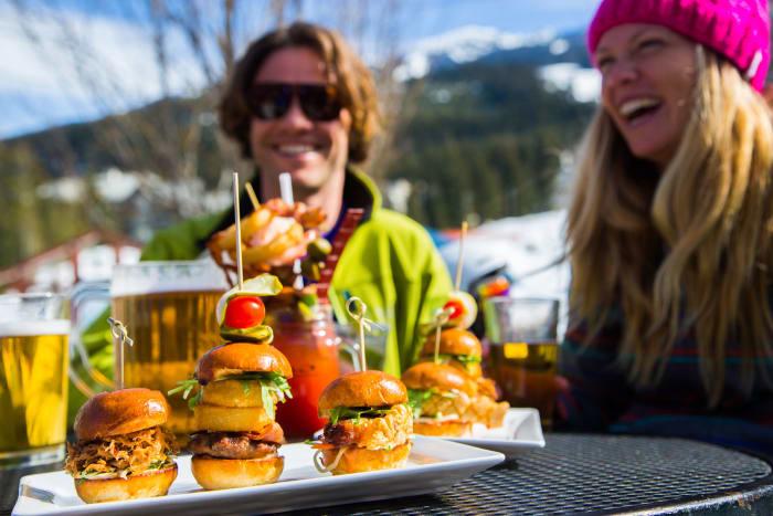 Ski resort restaurant feedback
