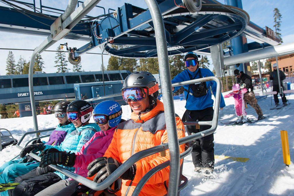 Skier Feedback on chair lift