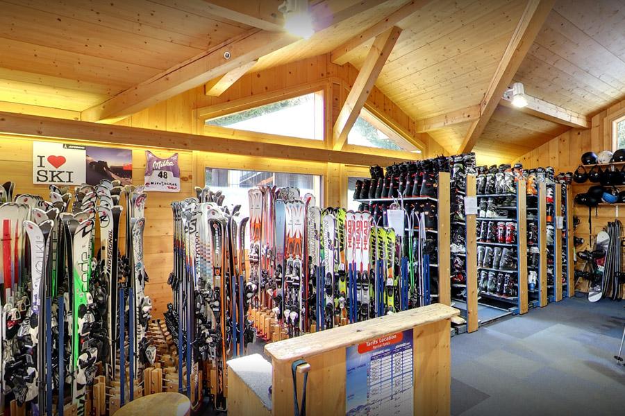 Ski rental store feedback