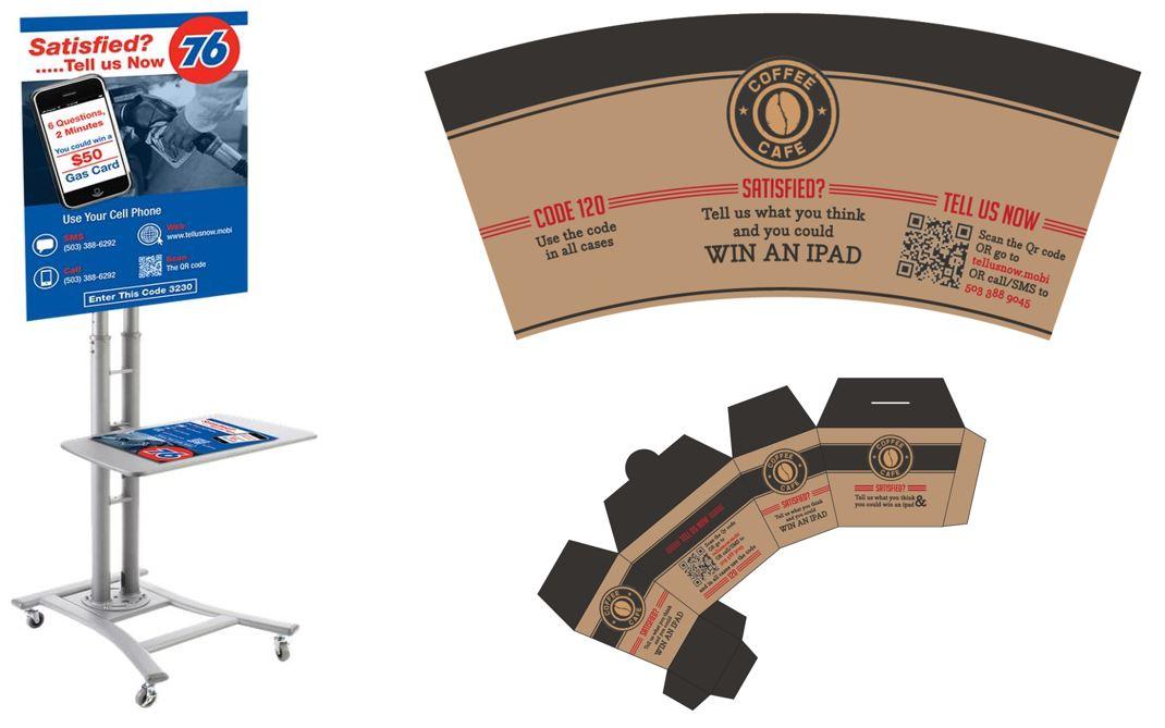 Display and packaging feedback