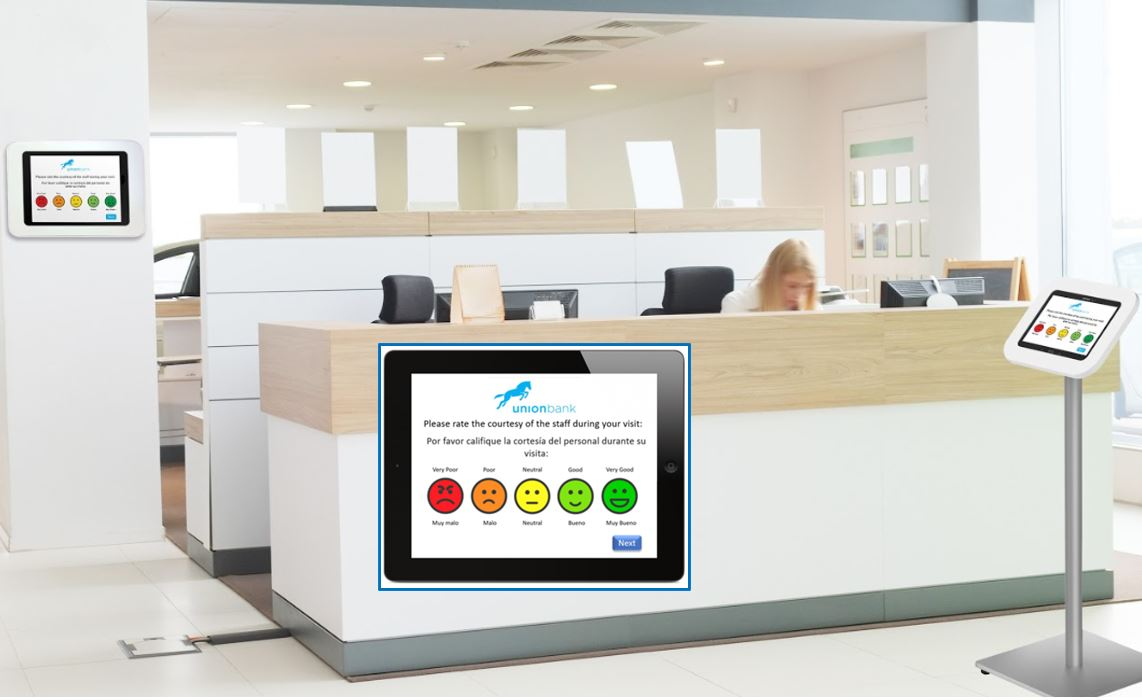Feedback by tablet and touchscreen