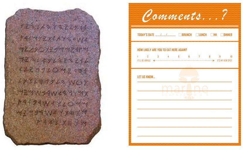 Advantages and Disadvantages of Customer Comment Cards